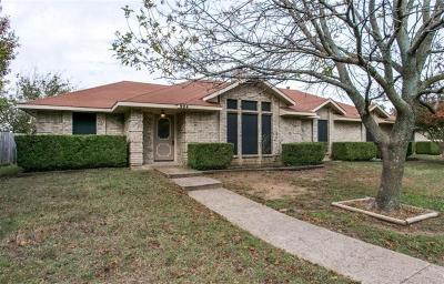 Cedar Hill Single Family Home For Sale: 924 Cannady Circle