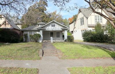 Dallas Residential Lots & Land For Sale: 5811 Velasco Avenue