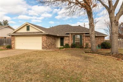 Johnson County Single Family Home Active Option Contract: 1211 Stonelake Drive