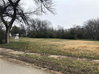 Fort Worth Residential Lots & Land For Sale: 2317 Yuma Avenue