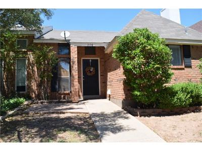 Abilene Condo For Sale: 3158 Chimney Circle