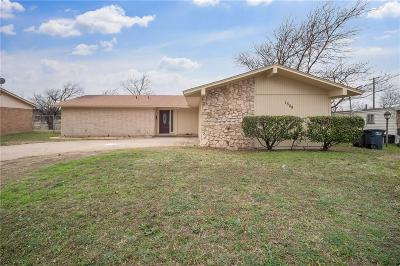 Fort Worth Single Family Home For Sale: 1308 Stafford Drive