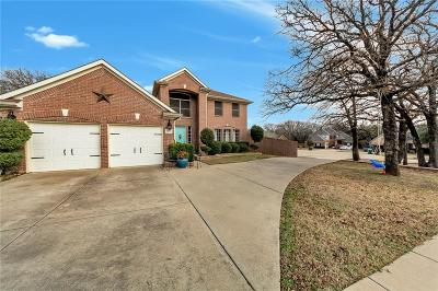 Lewisville Single Family Home Active Option Contract: 1375 Forest Creek Drive