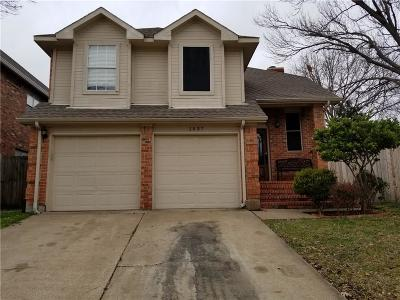Garland Single Family Home For Sale: 1537 Shalfont Lane