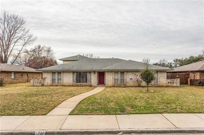 Lewisville Single Family Home For Sale: 1344 Glenhill Lane