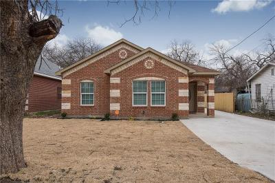 Dallas, Fort Worth Single Family Home For Sale: 2716 Peabody Avenue