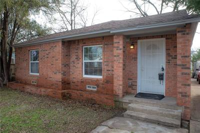Single Family Home For Sale: 2714 Exeter
