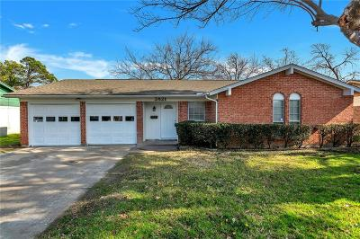 Fort Worth TX Single Family Home For Sale: $159,999