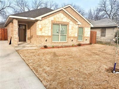 Dallas, Fort Worth Single Family Home For Sale: 2929 S Marsalis Avenue