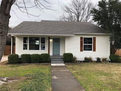 McKinney Single Family Home For Sale: 1712 Oak Street