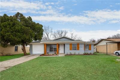 Mesquite Single Family Home For Sale: 3713 Susan Drive