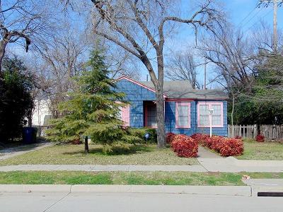 Garland Single Family Home Active Option Contract: 101 W Avenue E