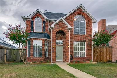 Rowlett Single Family Home For Sale: 6817 Hominy Ridge