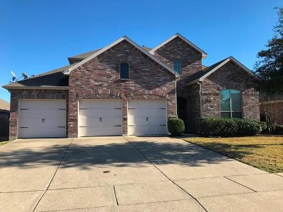 Forney Single Family Home For Sale: 509 Elm Grove Trail