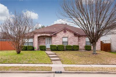 Cedar Hill Single Family Home For Sale: 316 Wedgewood Lane