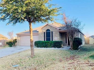 Single Family Home For Sale: 6248 Chalk Hollow Drive