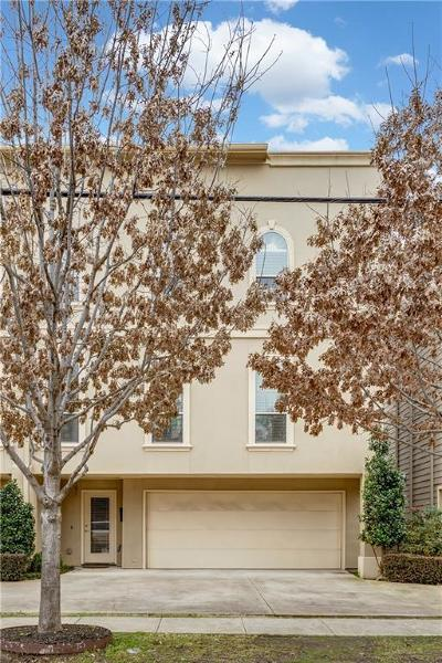 Dallas, Fort Worth Townhouse For Sale: 4039 Congress Avenue #101