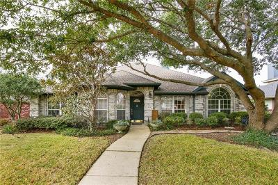 Allen Single Family Home Active Option Contract: 1309 Kenshire Court