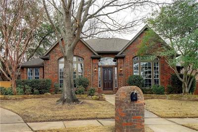 Flower Mound Single Family Home Active Option Contract: 716 Montrose Court