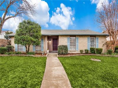 Carrollton Single Family Home For Sale: 3505 Whitney Drive
