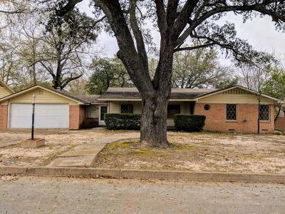 Tyler Single Family Home For Sale: 1406 Sunset Drive