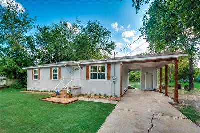 Terrell Single Family Home Active Option Contract: 606 College Mound Road