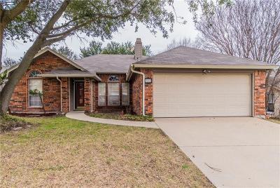 Fort Worth TX Single Family Home For Sale: $164,500