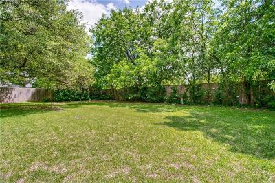 Dallas County Residential Lots & Land For Sale: 6526 Azalea Lane