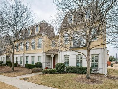 Plano Townhouse For Sale: 6633 Federal Hall Street
