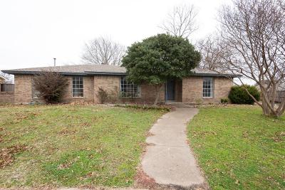 Allen TX Single Family Home For Sale: $187,000
