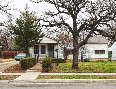 Fort Worth Single Family Home For Sale: 421 Catherine Street