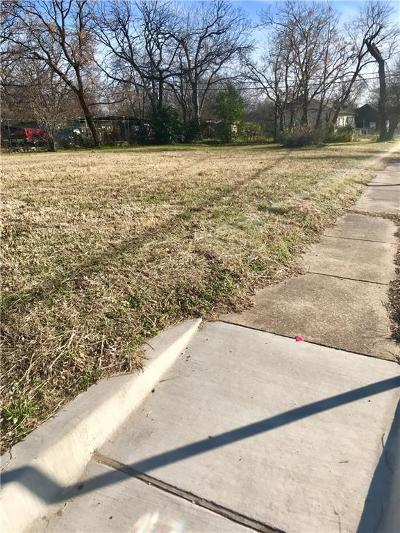 Fort Worth Residential Lots & Land For Sale: 1000 E Allen Avenue