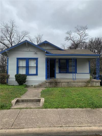 Dallas Single Family Home For Sale: 2321 Greer Street
