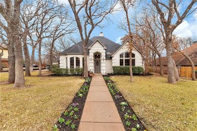Keller Single Family Home Active Option Contract: 1319 Snow Mountain Circle