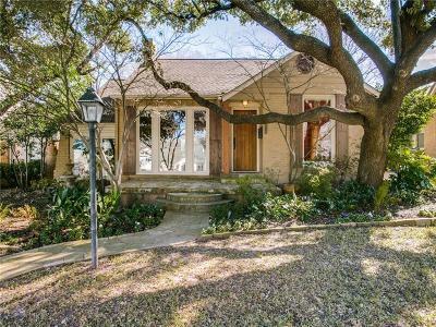 Dallas Single Family Home For Sale: 6918 Hammond Avenue