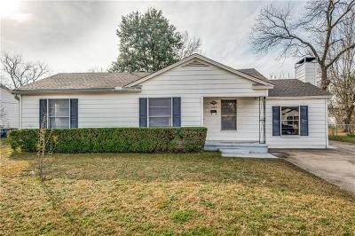Carrollton Single Family Home Active Option Contract: 1004 E Russell Avenue