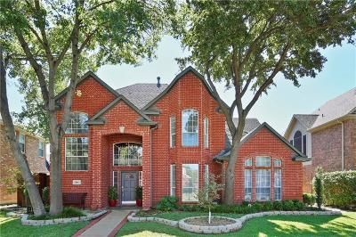 Coppell Single Family Home Active Option Contract: 851 Chalfont Place