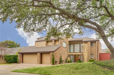 Plano Single Family Home Active Option Contract: 5213 Old Shepard Place
