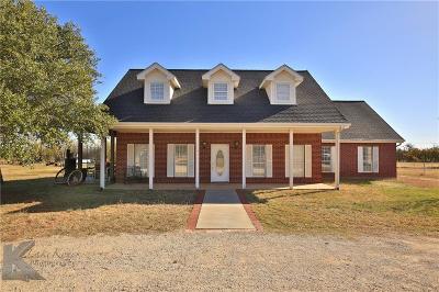 Abilene Single Family Home For Sale: 125 Five Oaks Road