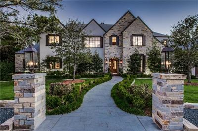 Dallas Single Family Home For Sale: 4040 Cochran Chapel Road