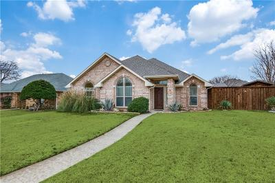 Frisco Single Family Home Active Option Contract: 7757 Kings Ridge Road