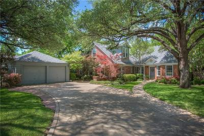 Fort Worth Single Family Home For Sale: 3909 Westcliff Road S