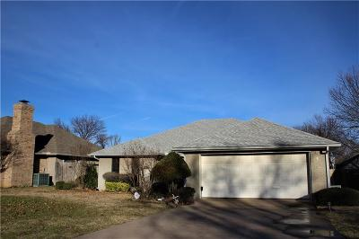 Sherman Single Family Home Active Option Contract: 4409 Augusta Circle