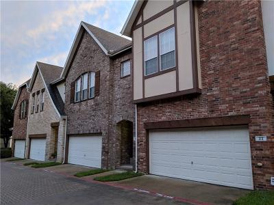 Dallas Townhouse For Sale: 1600 Abrams #23