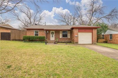 Dallas County Single Family Home Active Option Contract: 423 Vernet Street