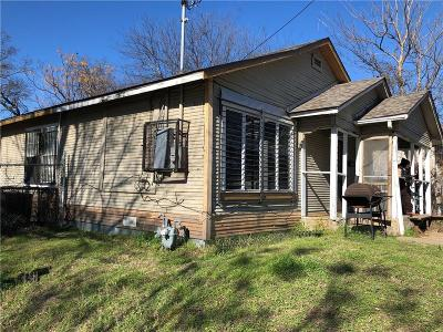 Dallas County Single Family Home For Sale: 4703 Frank Street