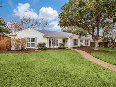 Dallas Single Family Home For Sale: 3842 Regent Drive