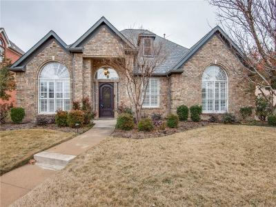 Carrollton Single Family Home For Sale: 3804 Hunters Trail