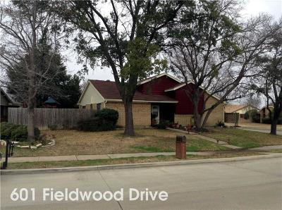 Mesquite Single Family Home For Sale: 601 Fieldwood Drive