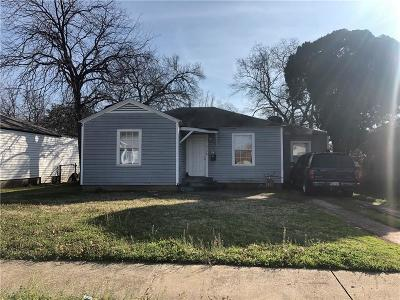 Dallas County Single Family Home For Sale: 4726 March Avenue
